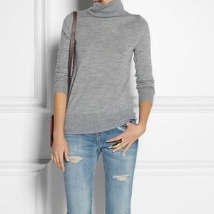 Jcrew medium merino wool turtleneck sweater women